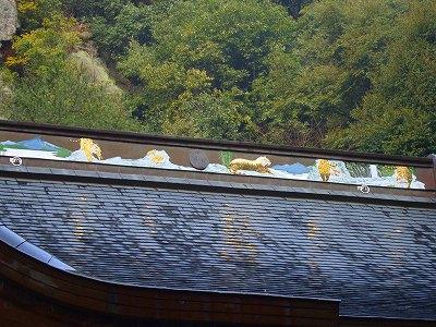 屋根の装飾