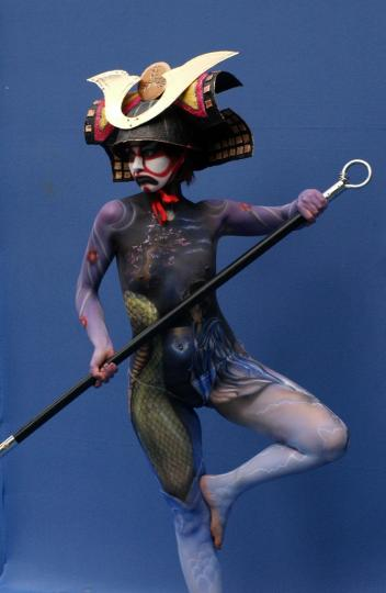 Asian Body painting