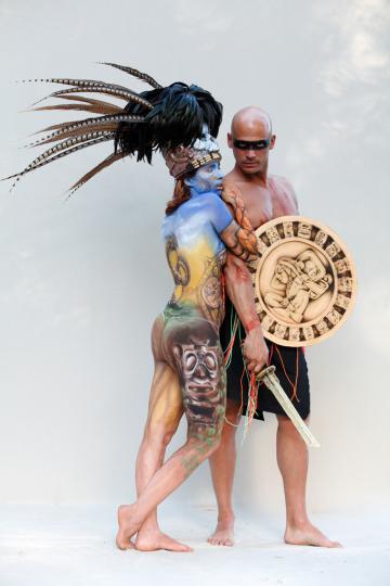 Maya Body painting