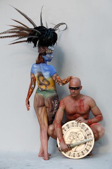 Maya Bodypainting