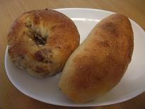 nicoさんのベーグル&ソーセージパン