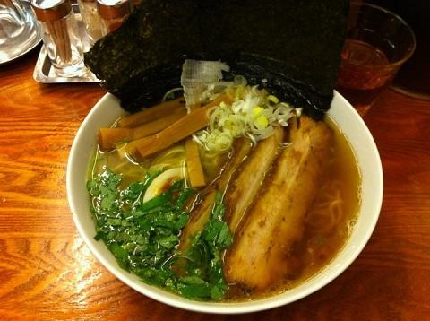 1003 Wafuu(和風) Ramen. Very yummy and healthy― 場所 麺屋 ひょっとこ 有楽町