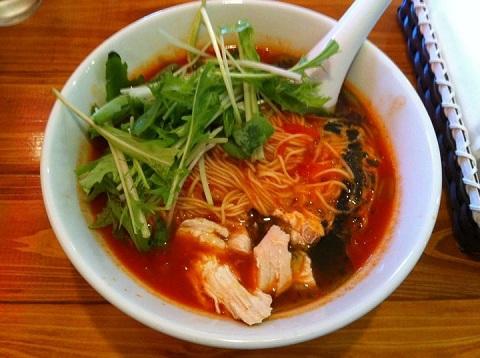0912 Tomato Ramen!― 場所Kitchen Troquet トロケの台所