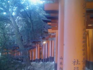 最後の稲荷山ランニング(6)_2009-01-15