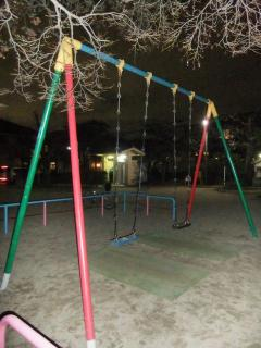 夜の公園_2011-03-10