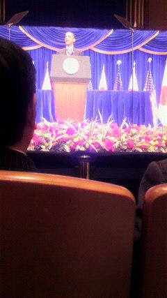 オバマ演説会