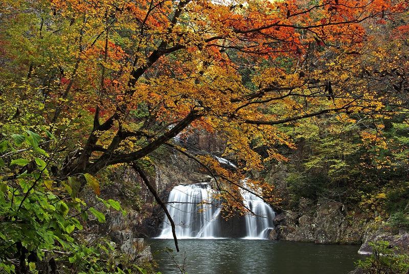 三段峡(三ツ滝)