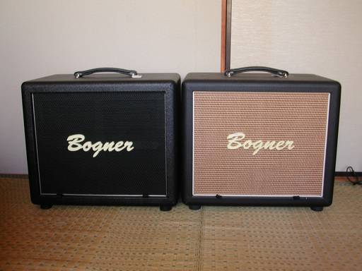 BOGNER 1X12 CUBE CLOSED BACK DUAL PORTED
