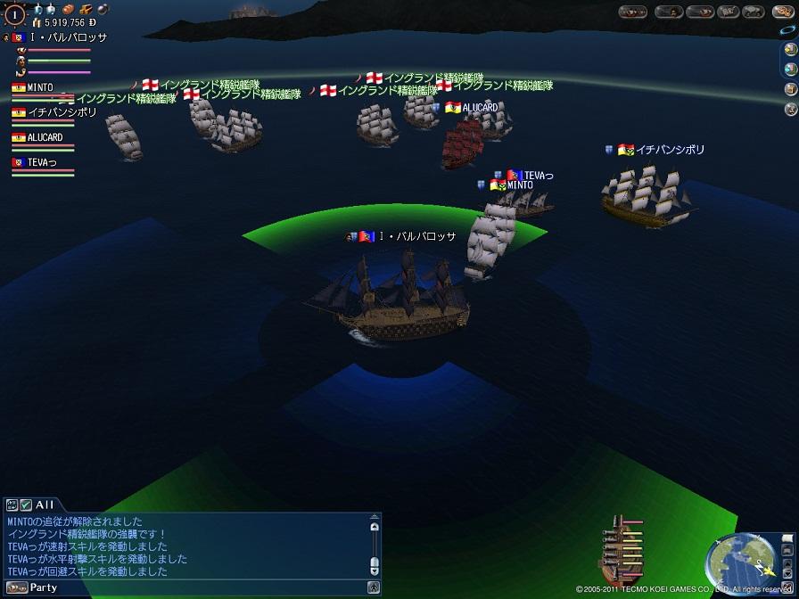イングランド精鋭艦隊