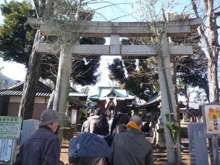 烏山神社2010年元旦
