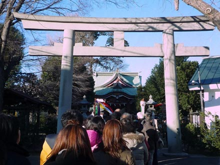 勝利八幡神社2010年元旦