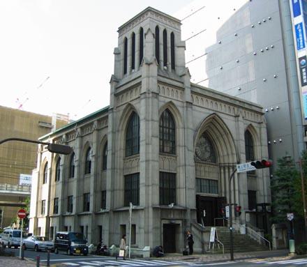 横浜指路教会全景