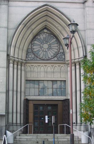 横浜指路教会入口