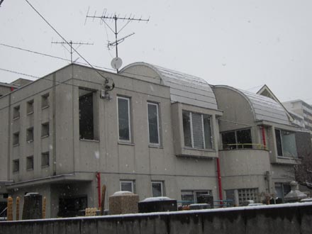 東京はまたもや雪②