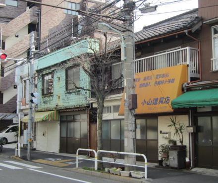 南品川2-9炭火焼鶏大すい・小山道具店①