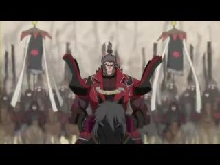 戦国BASARA弐 第11話「覇走豊臣大本隊! 本気の慶次、断腸の抜刀!!」 (8)