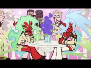 パンティ&ストッキングwithガーターベルト 第06話「悪魔のような女たち」 (4)