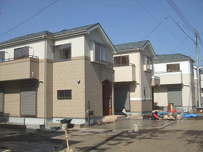 国立の新築戸建住宅