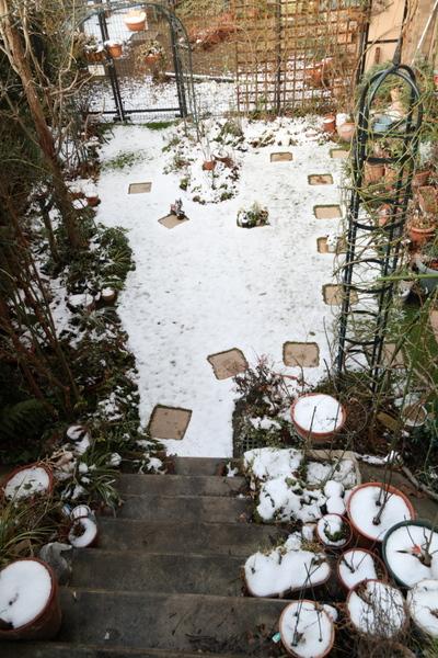 雪景色2日目