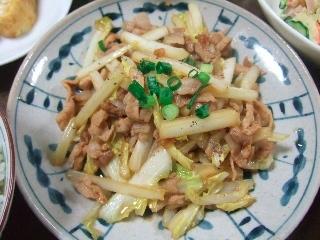 豚肉と白菜0419