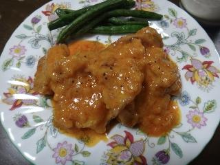 鶏のパプリカ風味煮0404