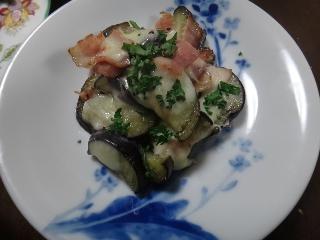 なすのチーズ焼き0404