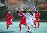 サッカー 成蹊大戦 松本
