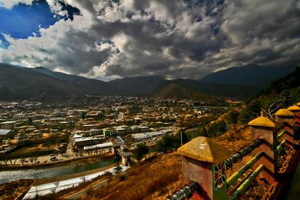 ブータン 町