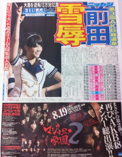 日刊スポーツ 号外