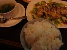 チキンと枝豆のハニーマヨネーズソース