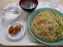 五目野菜と豚肉焼きビーフン
