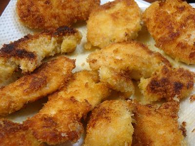 120407鶏ムネ肉のパン粉焼き5