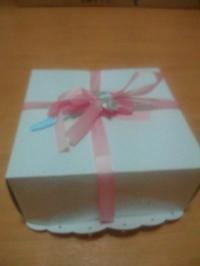 姫の誕生日ケーキ1