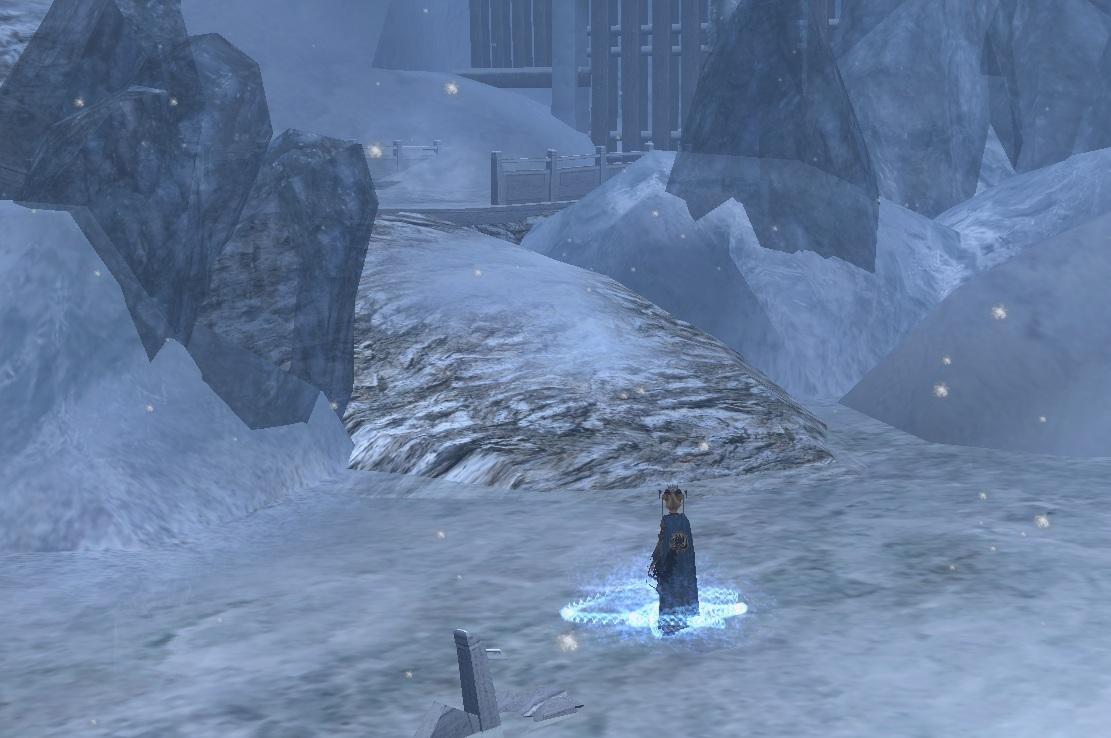 氷雪に降るきらきらが好き