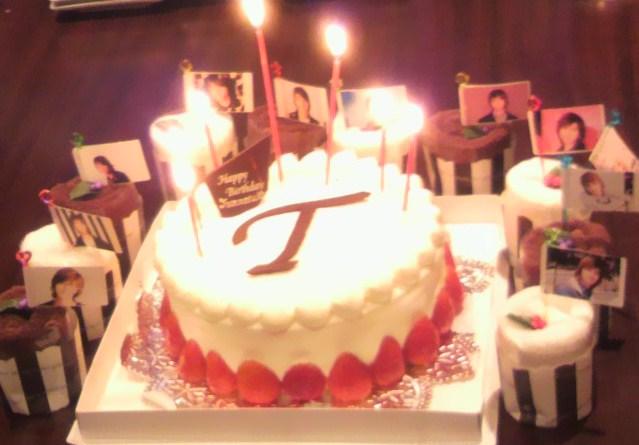 25歳ケーキ