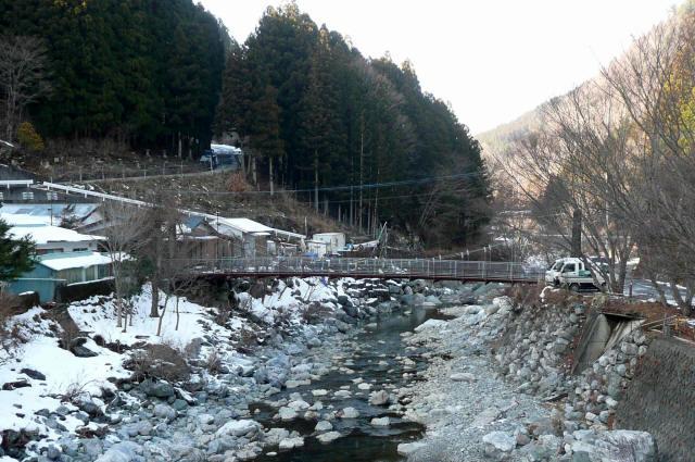 名頃の吊橋1