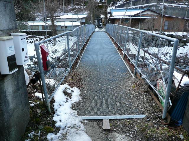 名頃の吊橋2