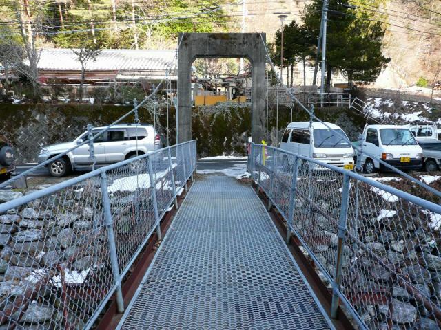 名頃の吊橋3