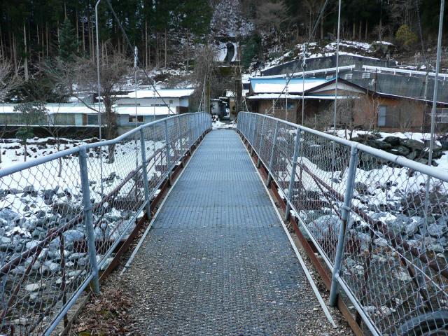名頃の吊橋4