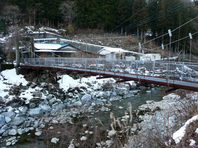 名頃の吊橋5