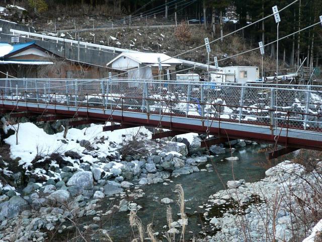 名頃の吊橋6