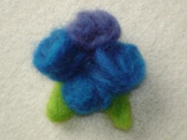 ブルー2色バラ