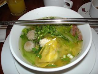 ホテルの朝食~麺