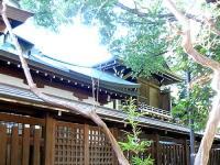 鳩森八幡神社本殿