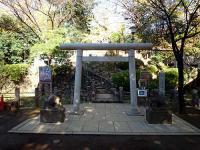 千駄ヶ谷の富士塚