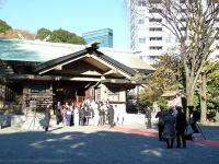 東郷神社での挙式