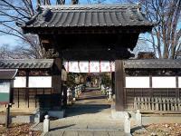 勝福寺 山門と参道