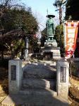 勝福寺 弘法大師像と四国88ヶ寺お砂ふみ