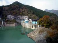 二瀬ダムと秩父湖