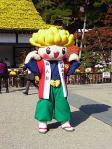 菊人形展ゆるキャラ